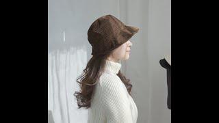 애지중지상점_데일리 중년 여성 겨울 버킷햇 엄마 가을 …