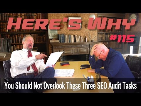 Three SEO Audit Tasks You Should Not Overlook - Here's Why!