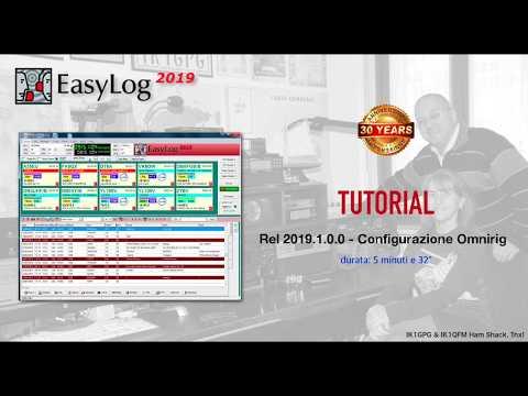 EasyLog 2019.1.0.0   Configurazione Omnirig   (HD 720p)
