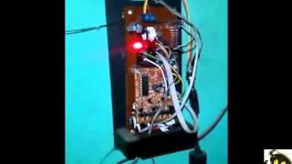 membuat lampu dan pintu otomatis menggunakan RFID dan remote control sederhana
