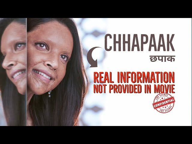 Real Story of CHHAPAAK You Don't Know ♥️