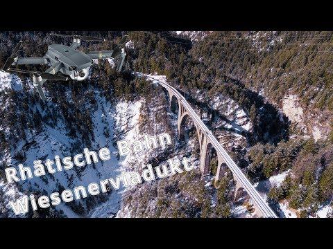 Wiesenerviadukt (Switzerland) - Rhätische Bahn - Drone Video - DJI Mavic Pro