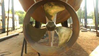 Skeg and Rudder - Part 7 - Propeller Fit Up