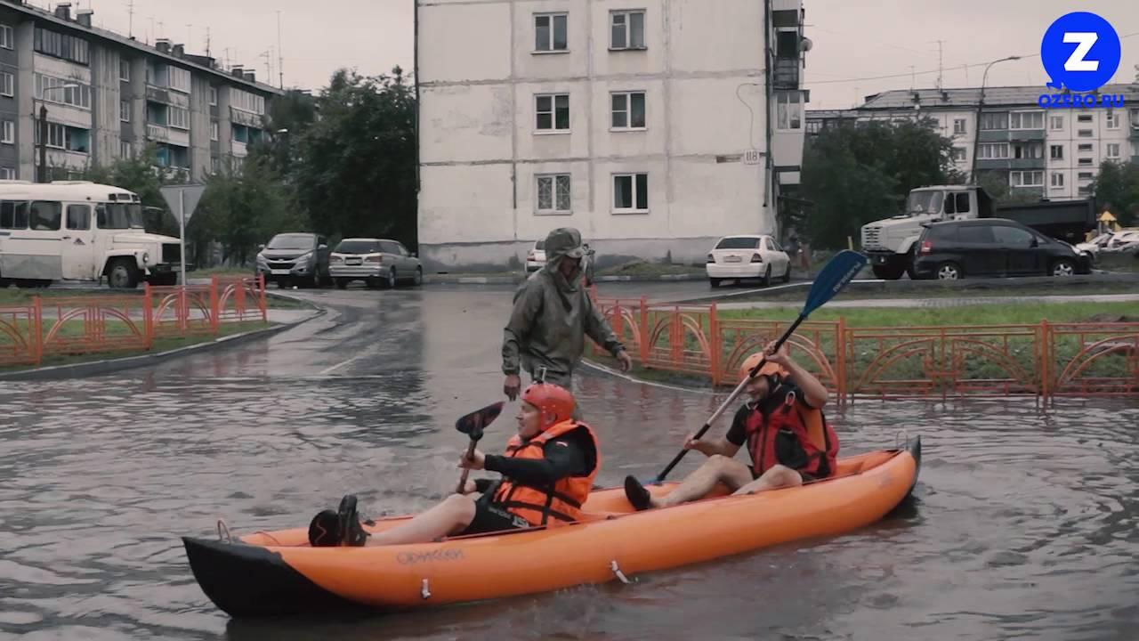 Потоп в столице: затруднено движение по улице Борщаговской - Цензор.НЕТ 8327