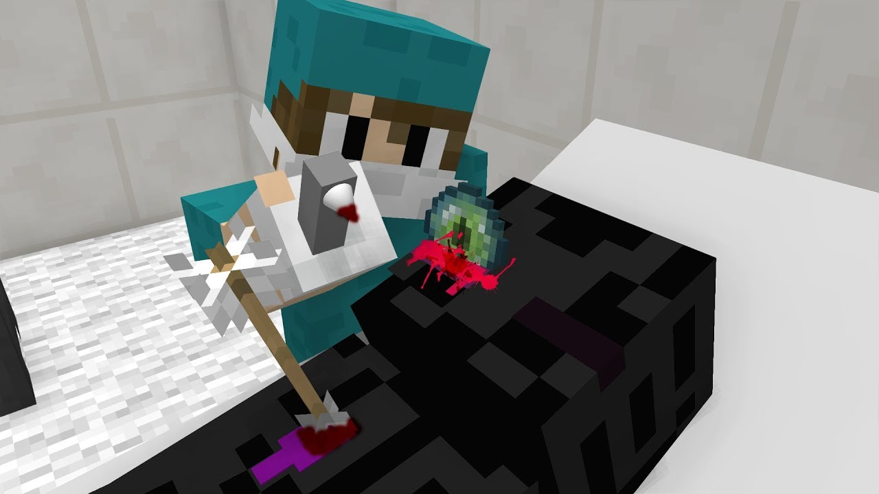 Monster School Surgical Operation Enderman Minecraft Animation