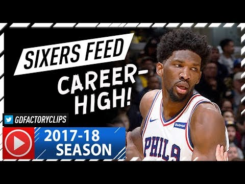 Joel Embiid Full Highlights vs Lakers (2017.11.15) - Career-HIGH 46 Pts, 15 Reb, 7 Ast, 7 Blks!