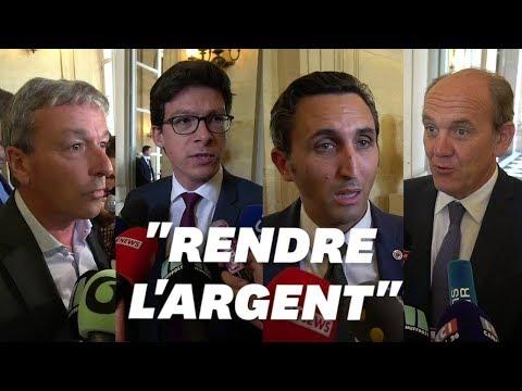 """Pour ces députés, François de Rugy doit """"rendre l'argent"""""""