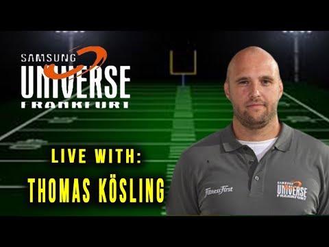 Live Interview with Thomas Kösling Defensive Coordinator of The Samsung Frankfurt Universe