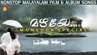 Mazhaye | Monsoon Special Nonstop Malayalam Film & Album Songs