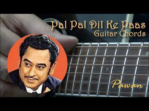 Pal Pal Dil Ke Paas - Blackmail - Guitar Chords Lesson - Pawan