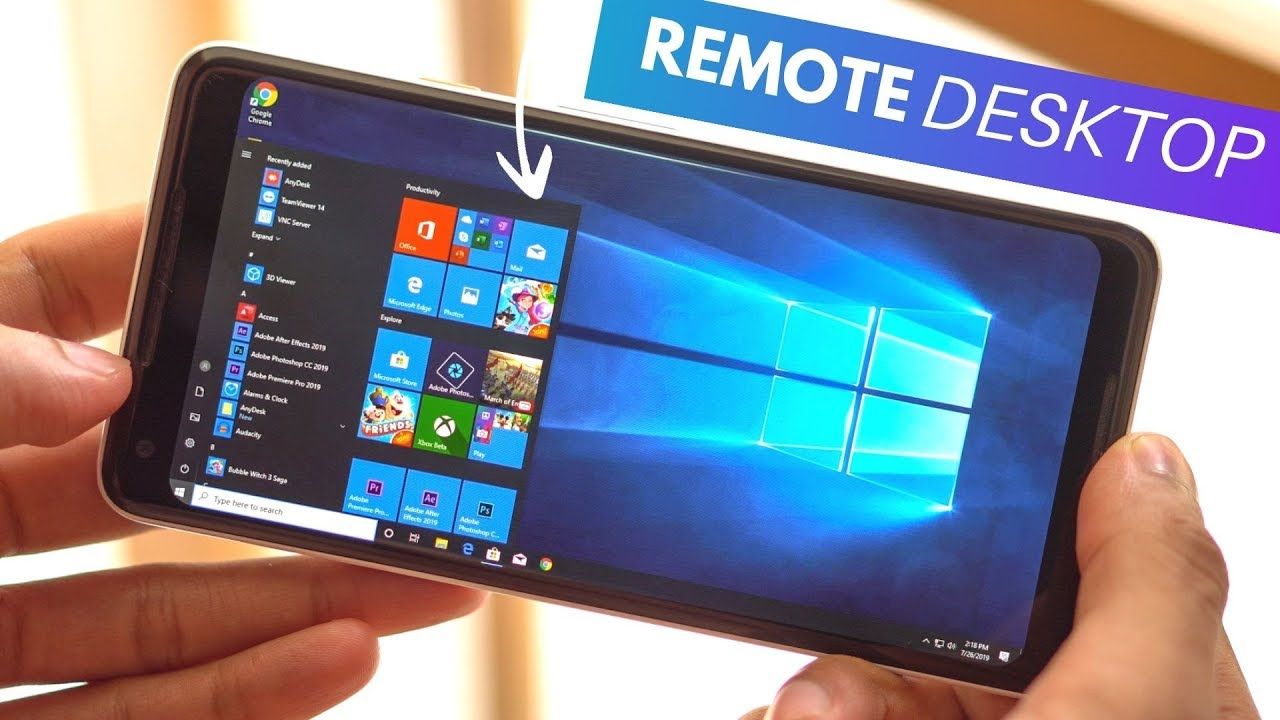 The Best Remote Desktop Apps For Android 2019!