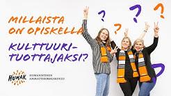 Millaista opiskelu on Humakissa: Kulttuurituottaja (AMK)