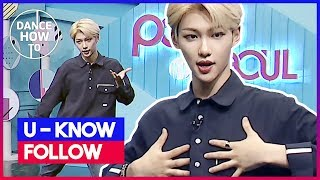 [Pops in Seoul] Felix's Dance How To! U-Know(유노윤호)'s Follow