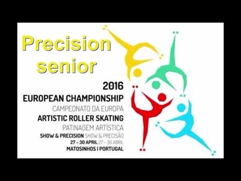 Europei 2016 Precisiom Senior Matosinhos
