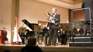 Euphonium Concerto by Vladimir Cosma performed by Michael Patrick Terry on Euphonium