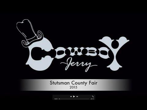 Cowboy Jerry - Stutsman County Fair 2015