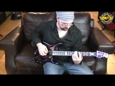 Music Man John Petrucci JPX6 demo at World Guitars