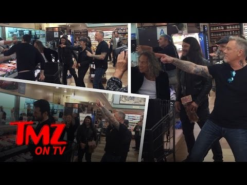 Metallica Prove They Can Rock Out Anywhere | TMZ TV