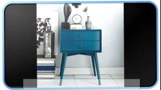 Midcentury Blue Modern Furniture