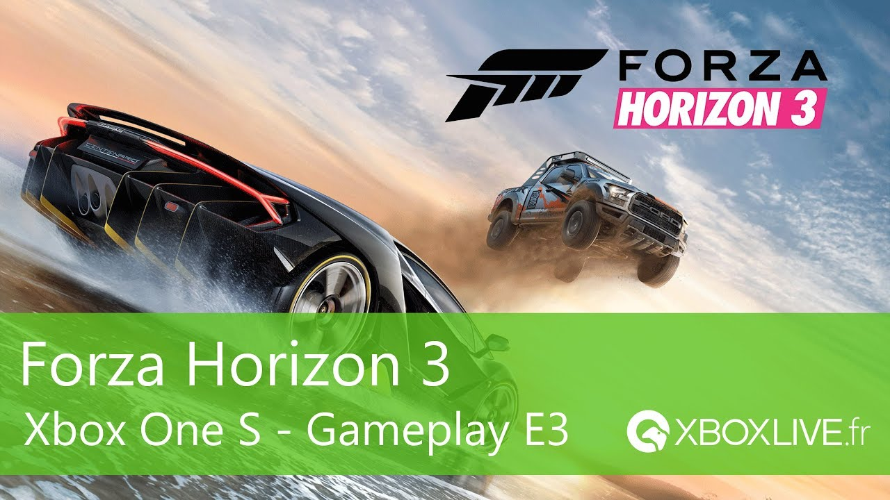 forza horizon 3 gameplay xbox one s youtube. Black Bedroom Furniture Sets. Home Design Ideas