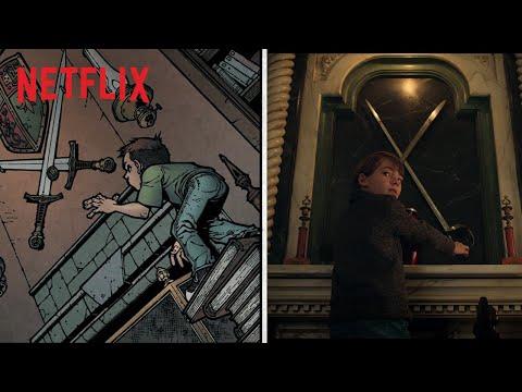 Locke & Key | Dos quadrinhos para a tela | Netflix