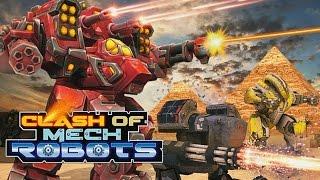 Clash of Mech Robots