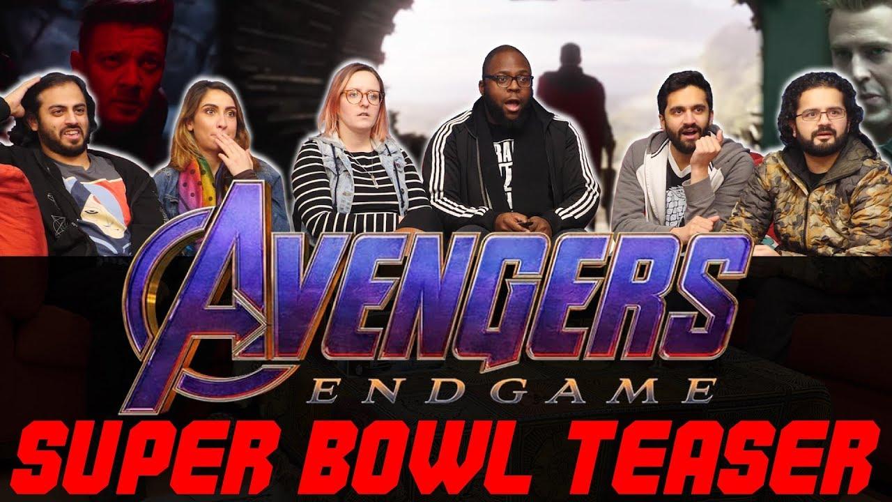 Avengers Endgame - Official Super Bowl Trailer - Normies Group Reaction