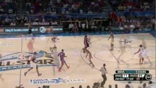NBA All-Star 2012 Rising Stars game highlights: Team Chuck vs. Team Shaq (Feb 24, 2012)