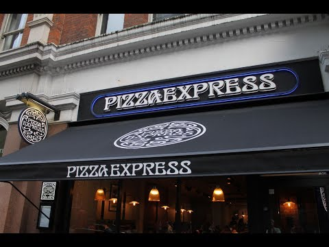 Dinner At Pizza Express Victoria Street London