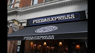 Dinner at Pizza Express - Victoria Street, London