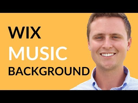 Add Music To Wix Website // Wix Tutorial