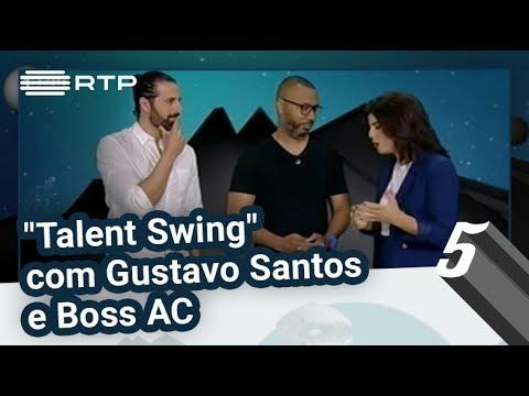 """""""Talent Swing"""" com Gustavo Santos e Boss AC   5 Para a Meia-Noite   RTP"""