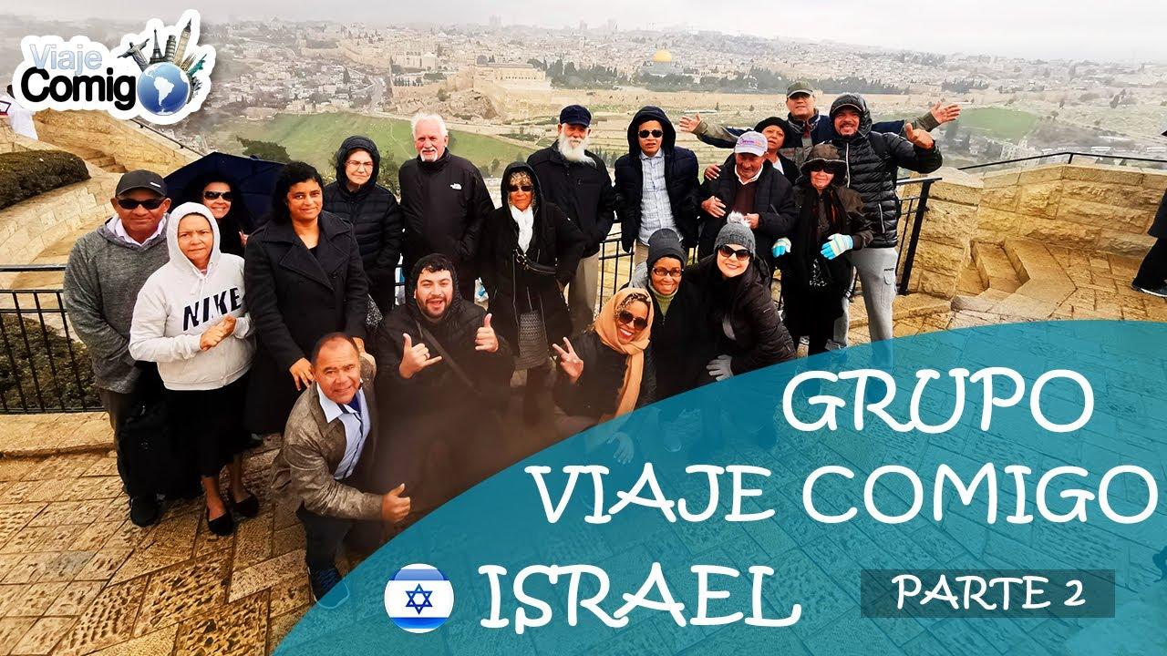 GRUPO de VIAGEM para ISRAEL  | Parte 2 | Bom de Bíblia | PROGRAMA Viaje Comigo