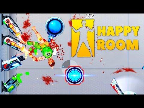 Happy Room - Brutal Destruction Fury! - Let's Play Happy Room Gameplay - Happy Wheels in a Room!