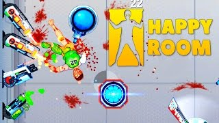 Happy Room - Brutal Destruction Fury! - Let's Play Happy Room Gameplay - Happy Wheels in a Room!