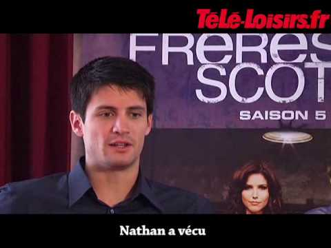 James Lafferty Interview (Les Frères Scott)