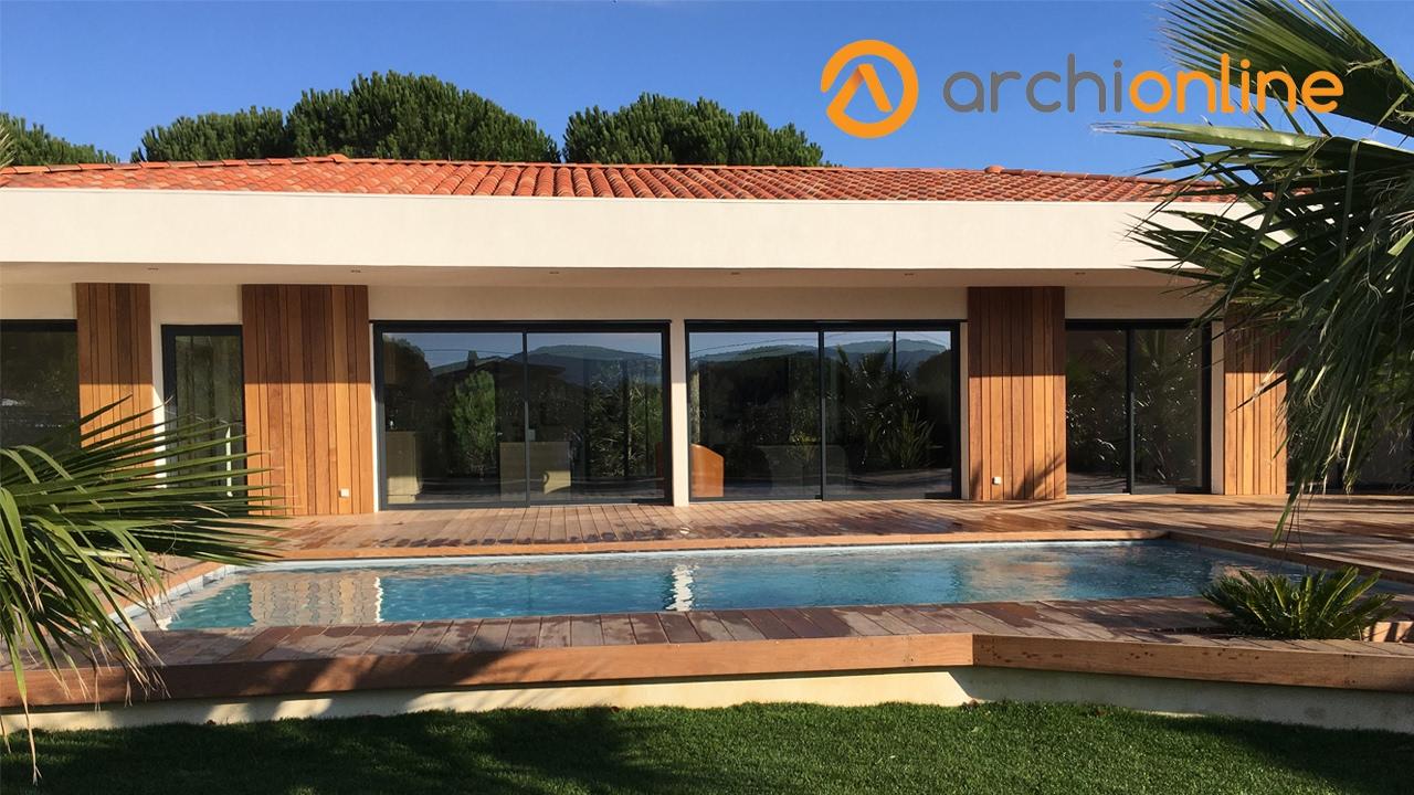 Archionline reportage construction maison bioclimatique cogolin youtube - Reportage construction maison ...
