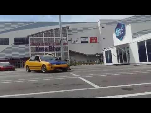 Honda Eg4D kelate - launching test pump..pump..pump..