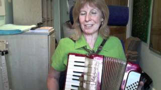 Piano accordion video 1 learning to play