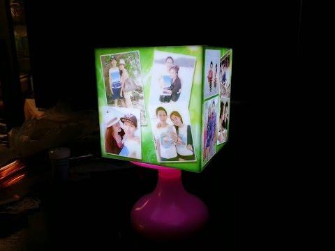 โคมไฟสั่งทำ โคมไฟรูปภาพ led ของขวัญ ของที่ระลึก ของขวัญวันเกิด ของขวัญแต่งงาน