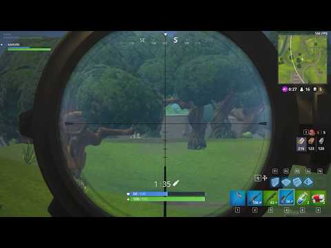 How To Use Fortnite Sniper's Bullet Drop