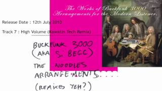 Si Begg aka Buckfunk 3000 : High Volume (Kawatin Tech Remix)