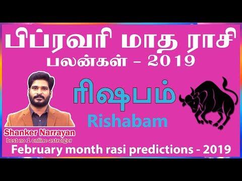 February month rasi palan 2019  rishabam