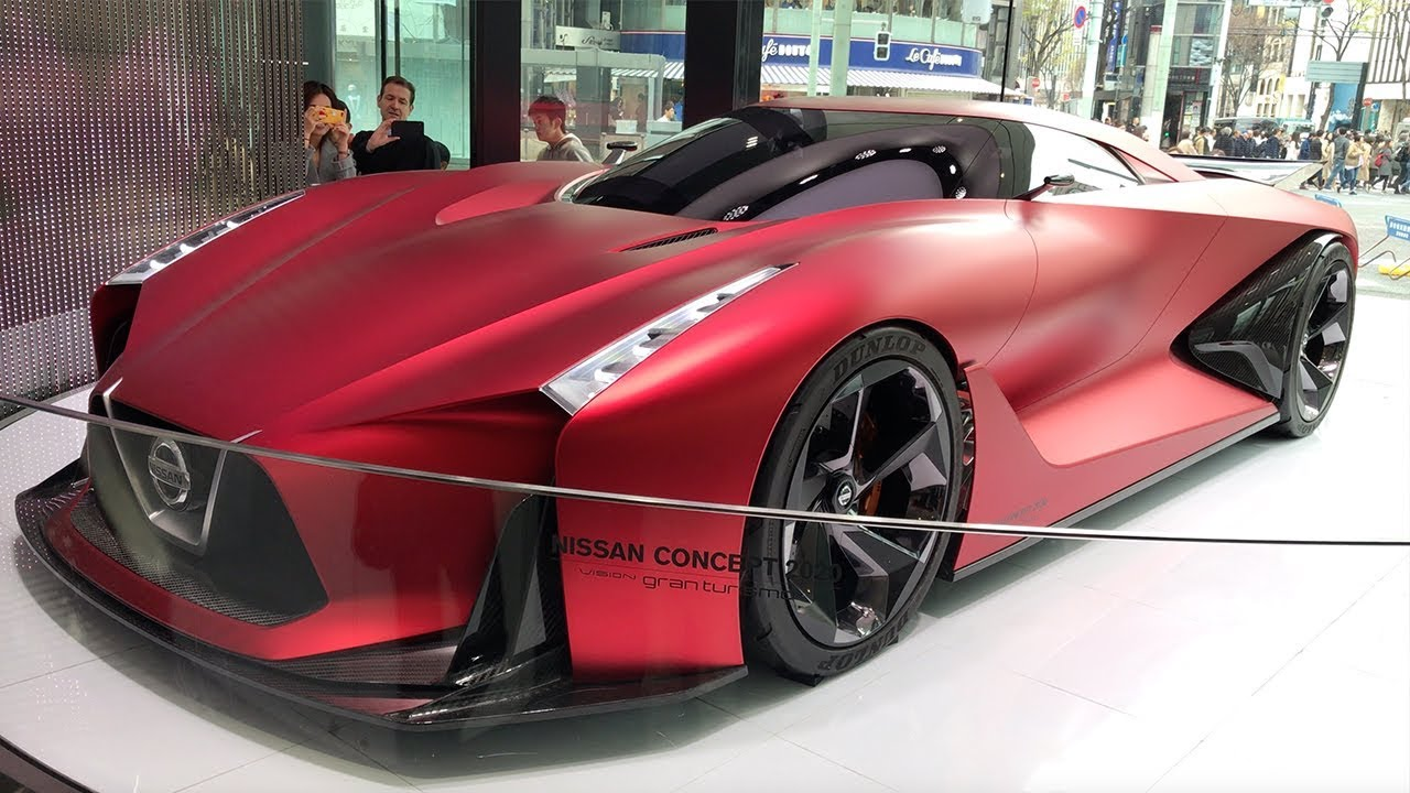 Nissan Concept 2020 Vision Gran Turismo In Tokyo Youtube
