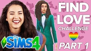 Chantel Tries The Dating Challenge In The Sims 4   Part 1