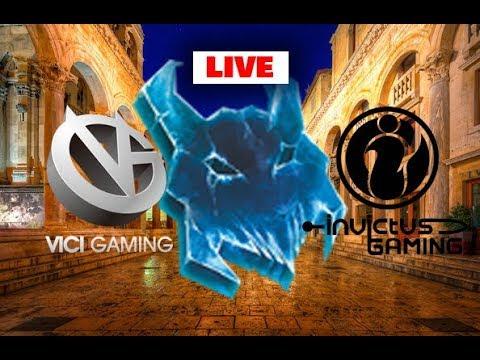 Vici Gaming vs Invictus Gaming - Dota PIT League China Qualifier