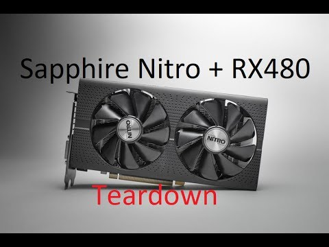 Sapphire Nitro+ RX 480 Teardown