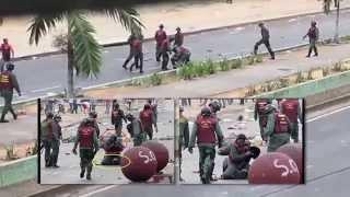 Ataque de la Guardia Nacional Bolivariana (GNB) en La Isabelica - Valencia, Venezuela