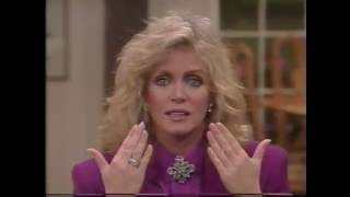 "Donna Mills is interviewed by Alex Trebek about ""The Eyes Have It"""