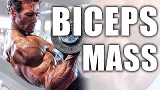 My Bicep Routine For Mass | Mike O'Hearn